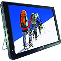 SuperSonic SC-2812 Portable Widescreen LCD Display with Digital TV Tuner, USB/SD Inputs and AC/DC Compatible for RVs (12…
