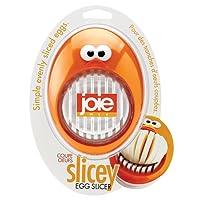 "Harold Import Company 50792 Stainless Steel Joie Mashy Egg Masher, 6.5"", Orange"