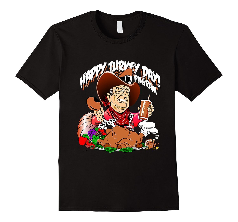 Turkey Day Thanksgiving Tee Shirt Holiday Humorous-T-Shirt