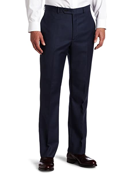 in stock classic shoes exclusive shoes Tommy Hilfiger Mens Flat-Front Trim-Fit Pant