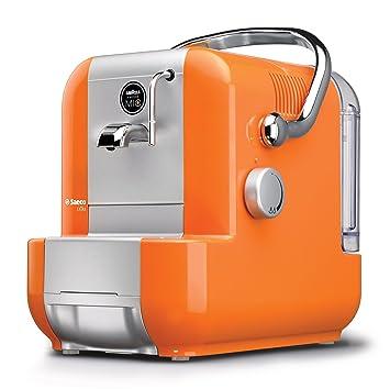 Philips Saeco RI9575/15 Máquina de café en cápsulas 0.9L Naranja, Plata -