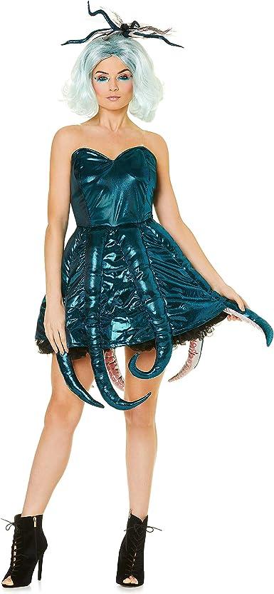 Karnival Costumes Sexy Disfraz de Pulpo para Mujer – Halloween ...