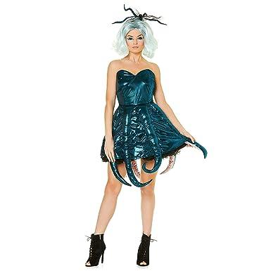 Karnival Costumes Sexy Disfraz de Pulpo para Mujer - Halloween ...