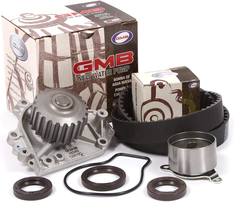 Timing Belt Kit GMB Water Pump Fit 96-00 Honda Civic Del Sol Si VTEC 1.6L B16A2