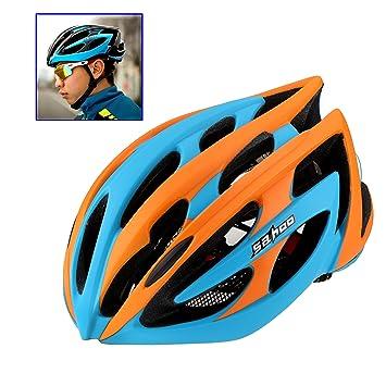 Sahoo Helmet Bike Bicycle Helmet Capacete Ciclismo Casco Bicicleta Mountain  Road Cycling Helmet-Blue 3966829a5f8