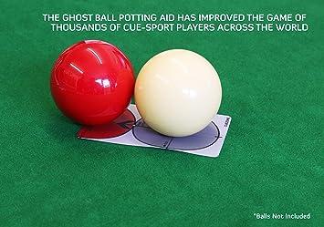 CueZone Ghost Ball – Ayuda para macetas [9 bolas/piscina americana]: Amazon.es: Deportes y aire libre