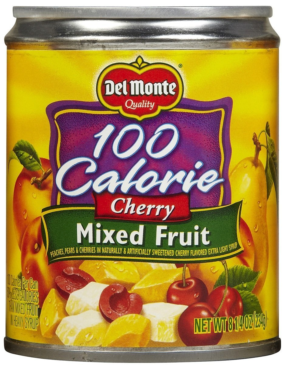 Del Monte Cherry Mixed Fruit in Light Syrup - 8.25 oz