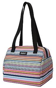 PackIt Freezable Hampton Lunch Bag, Blanket Stripe