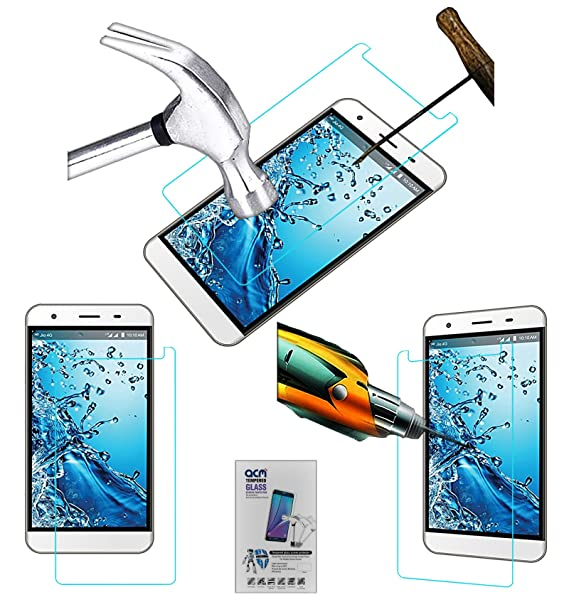 Acm Tempered Glass Screenguard Compatible with Lyf Water 11 4g Mobile Screen Guard Scratch Protector