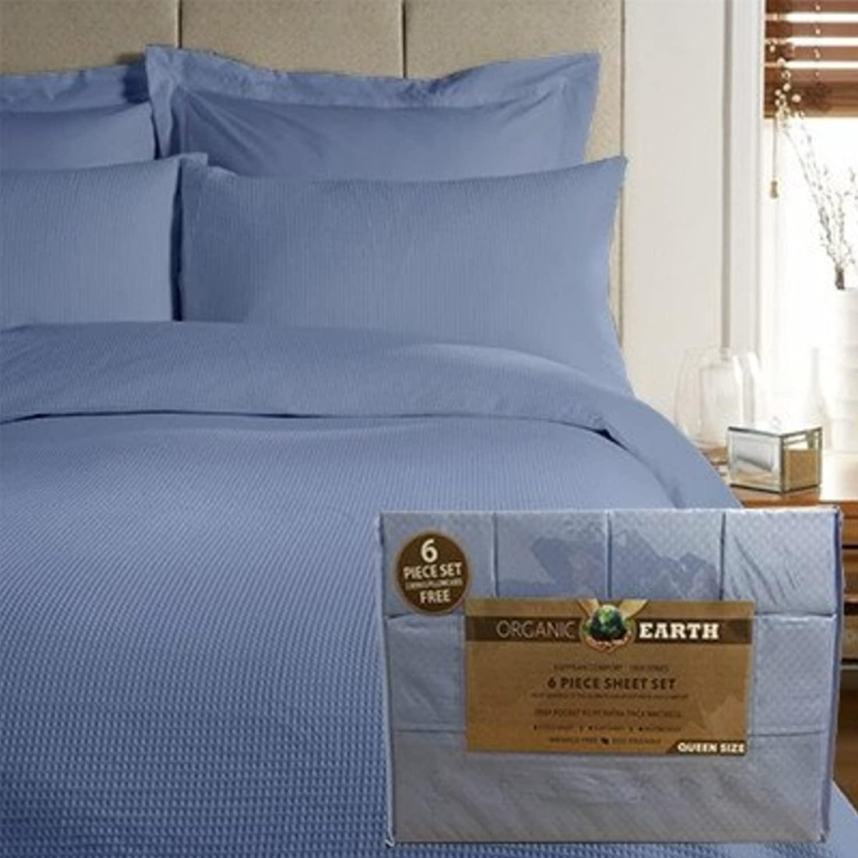 Ashley Taylor Queen size bed sheet set deep pocket wrinkle free