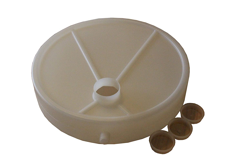 NUTRITORE A Goccia in PLASTICA A DEPRESSIONE da 3 L per Apicoltura