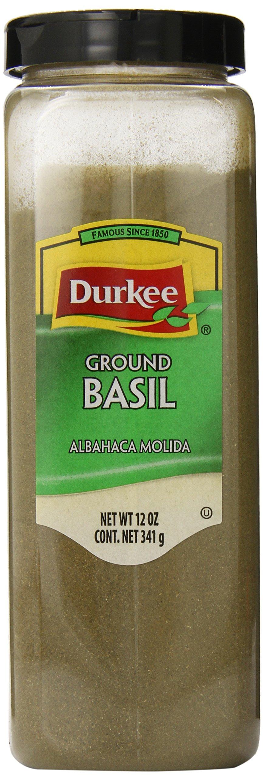 Durkee Ground Basil, 12-Ounce