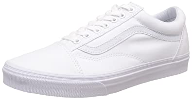 6fa77231e4b74 Vans Unisex Old Skool Leather Sneakers: Buy Online at Low Prices in ...