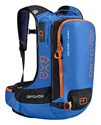 4373f42fc6 Ortovox Men s Free Rider 22 Avabag Kit Safety Blue 22 Liter