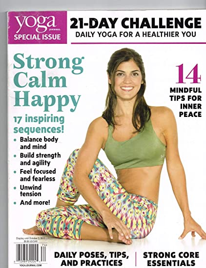 Amazon.com : YOGA JOURNAL MAGAZINE, SPECIAL ISSUE, 2017 21 ...