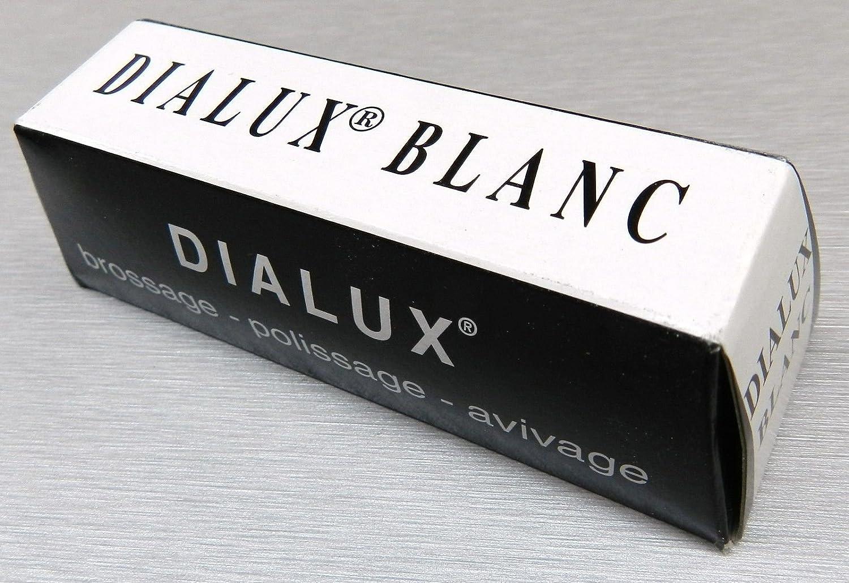 WHITE POLISHING COMPOUND DIALUX SILVER POLISH JEWELRY WHITE GOLD PLATINUM SILVER