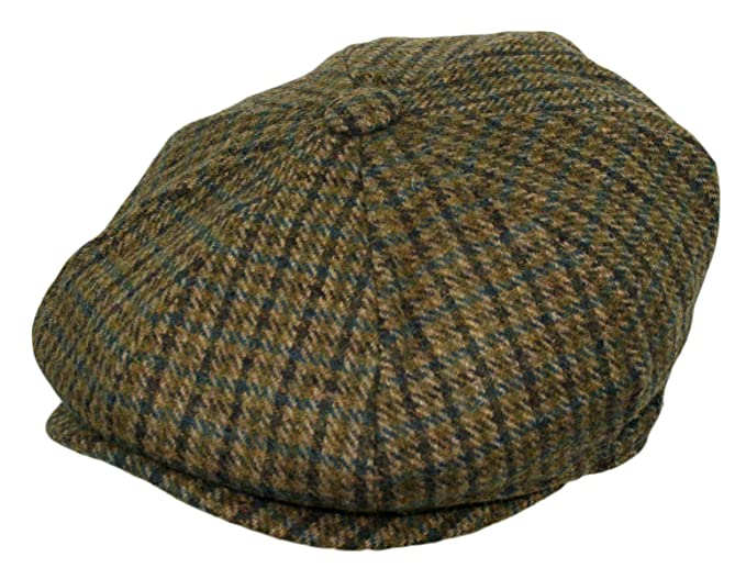 Mens 1920s Style Hats and Caps Mens Classic 8 Panel Wool Blend Newsboy Snap Brim Collection Hat $23.99 AT vintagedancer.com