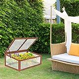 Giantex Garden Portable Wooden Green House Cold