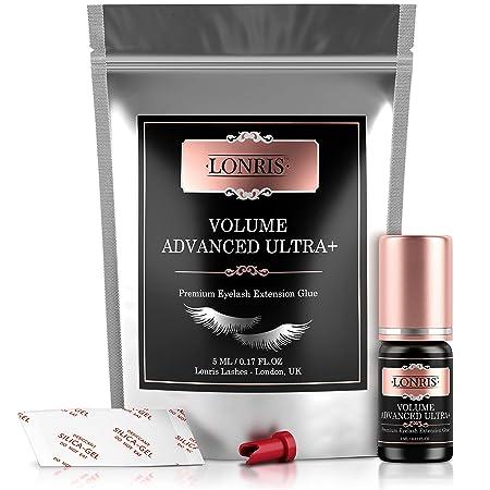 LONRIS Volume Advanced Ultra Plus Glue/Eyelash Extension Adhesive / 7-8  Weeks Retention