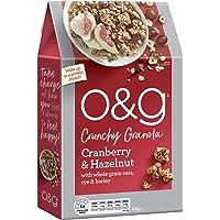 O&G Cranberry & Hazelnut Crunchy Granola, 450g