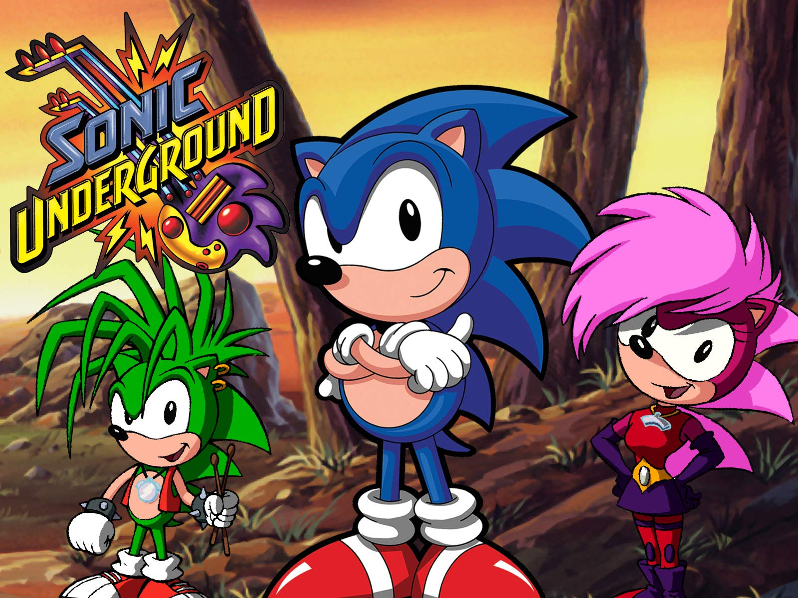 Image result for sonic underground