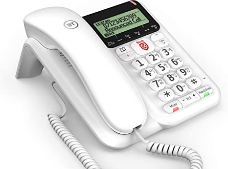 Not for domestic use BT Decor 500 Phone For Office Use