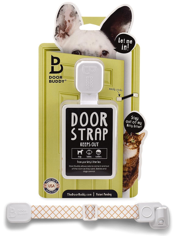 Amazon Door Buddy Adjustable Door Strap Latch Easy Way To