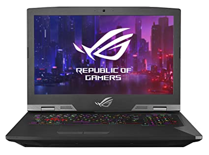 "ASUS ROG G703GX (2019) Gaming Laptop, GeForce RTX 2080, 17 3"" FHD 144Hz  G-SYNC, Intel Core i7-9750H CPU, 32GB DDR4, 512GB PCIe SSD + 1TB HDD,  Per-Key"