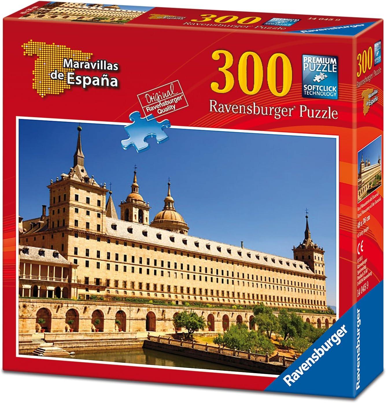Ravensburger - Maravillas de España: El Escorial, Puzzle de 300 Piezas (14045 9): Amazon.es: Juguetes y juegos