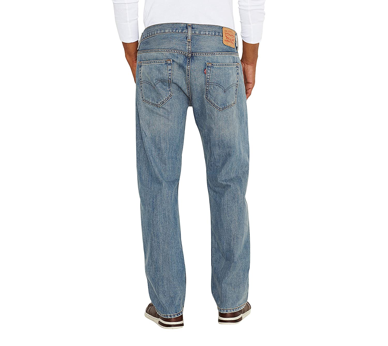 18aac751d60400 Levi's¿ Mens Men's 569¿ Loose Straight Fit Rugged 42 34 at Amazon Men's  Clothing store: