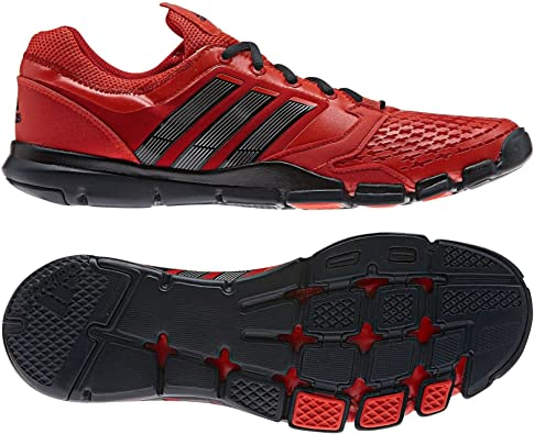 Amazon.com   adidas New Adipure Trainer 360 Red/Black Mens 14 ...