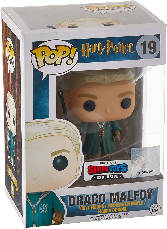 Funko FunkoBOBUGT707 Abysse - Vinilo de Harry Potter 19 Draco Malfoy Quidditch, edición Limitada