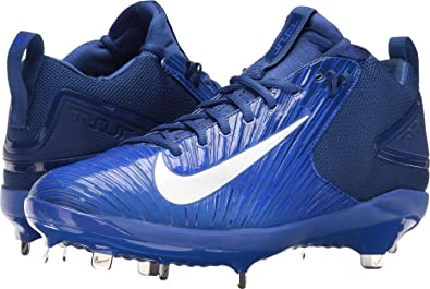quality design fc9b3 4eb5f Nike Mens Trout 3 Pro Baseball Cleat (Blue White, 7)