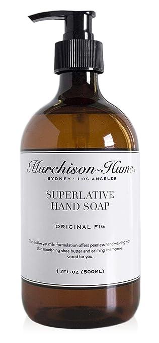 Lovely Murchison Hume Superlative Liquid Hand Soap (Original Fig),17Fl.Oz