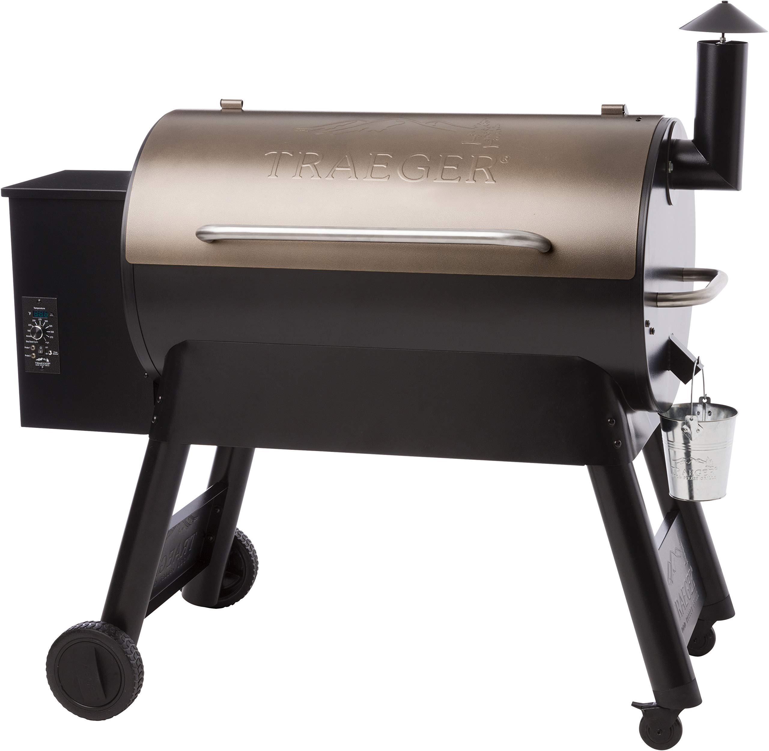 Traeger Grills TFB88PZBO Pro Series 34 Pellet Grill and Smoker, 884 Sq. In. Cooking Capacity, Bronze by Traeger