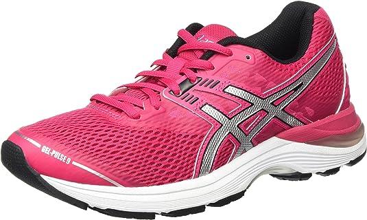 Asics T7D8N2093, Zapatillas de Running para Mujer, Rosa (Cosmo Pink/Silver/Black), 42.5 EU: Amazon.es: Zapatos y complementos