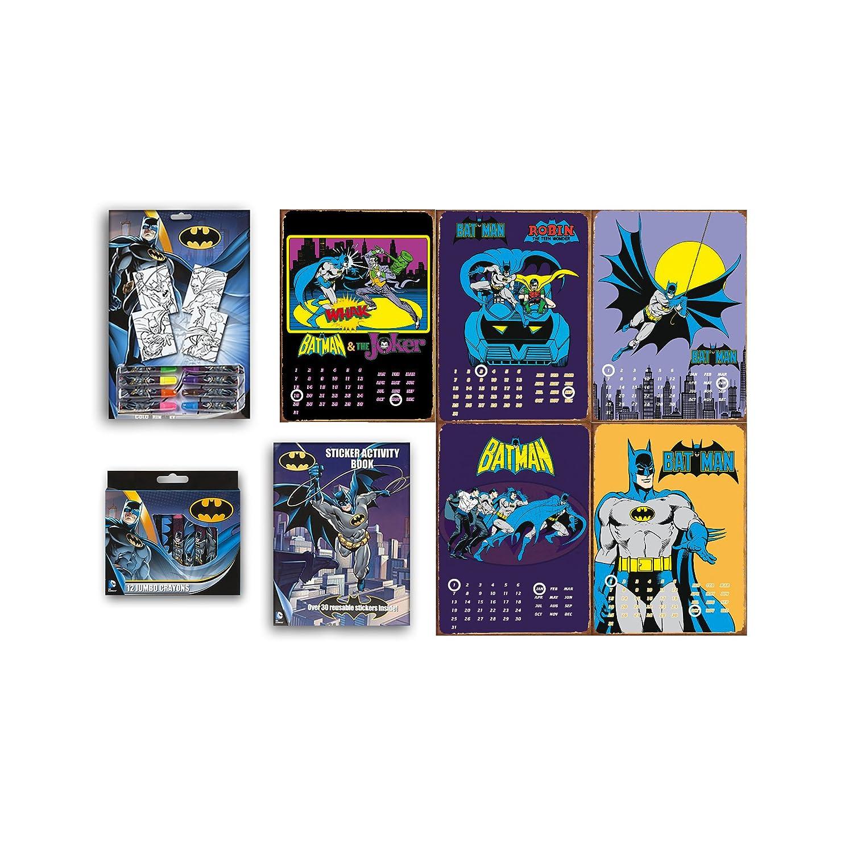 Amazon.de: DC Marvel Batman Bundle Arts Farbgebung Activity-Set mit ...