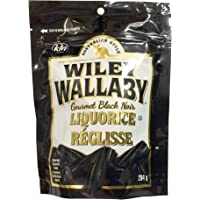 Wiley Wallaby Australian Licorice - Black, 284 Grams