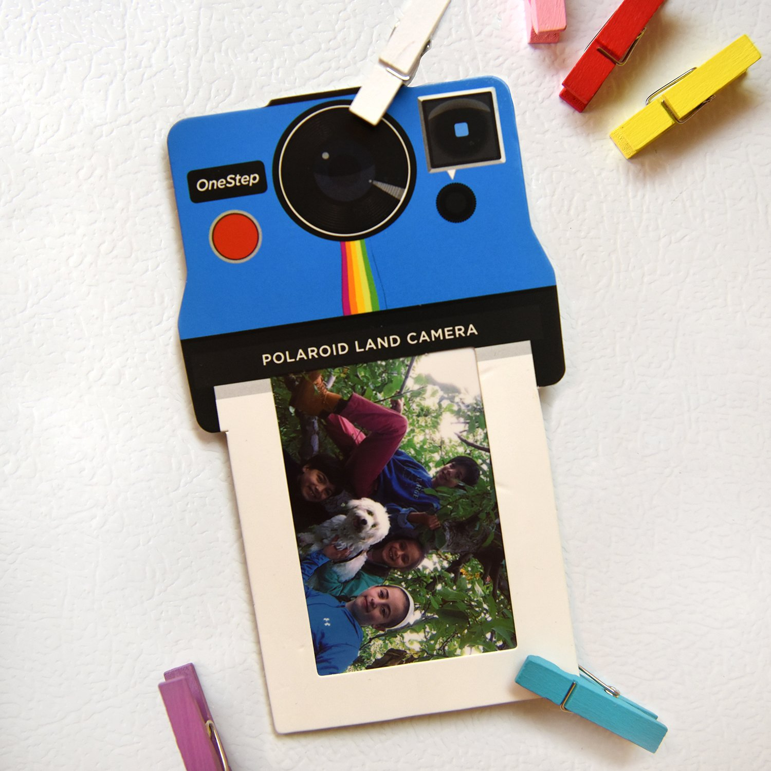 Amazon.com: Polaroid Colorful Square Photo Frames for 2x3 ZINK Paper ...