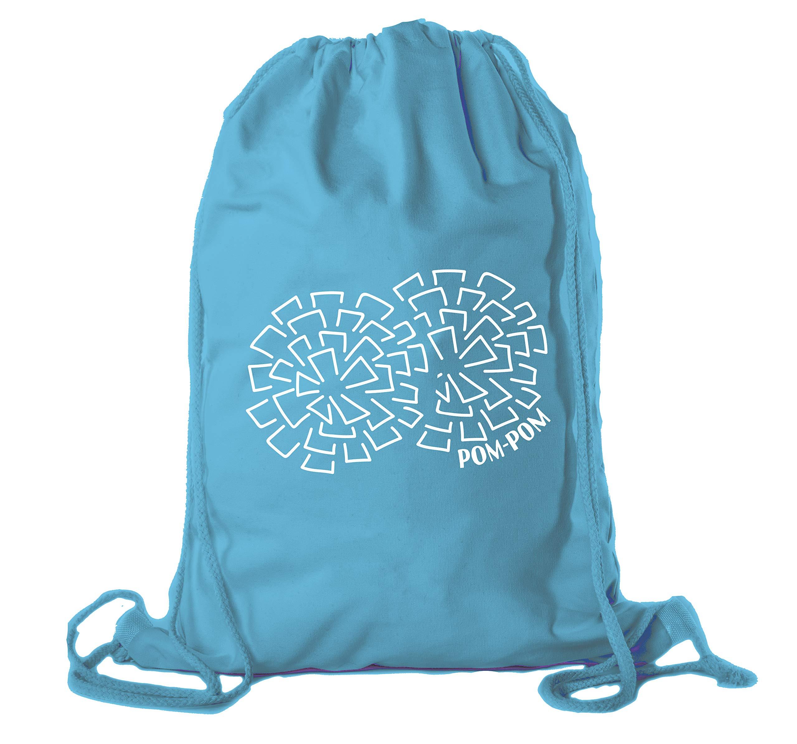Cheerleading Backpacks, Cheer and Pom Drawstring Bags, Cheerleader Team Cinch Bags