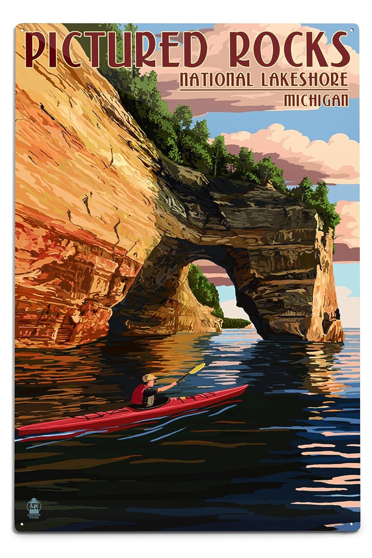 格安販売の Pictured Rocks National Lakeshore Sign , Lakeshore Michigan , 15oz Mug LANT-3P-15OZ-WHT-42784 B06Y11PZW8 12 x 18 Metal Sign 12 x 18 Metal Sign, かにのマルマサ【北海道】:f8a42ee7 --- podolsk.rev-pro.ru