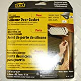 M-D Building Products 68676 Smoke Seal Door Gasket, Oversized, Extra Large, Medium, Large, White