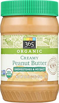 365 Everyday Value Organic Peanut Butter