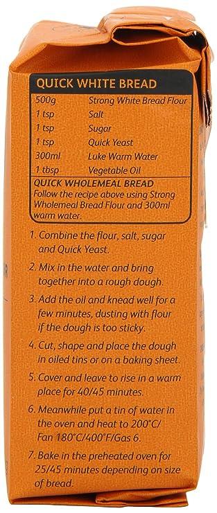 Doves Farm Quick Yeast 125g: Amazon.es: Electrónica
