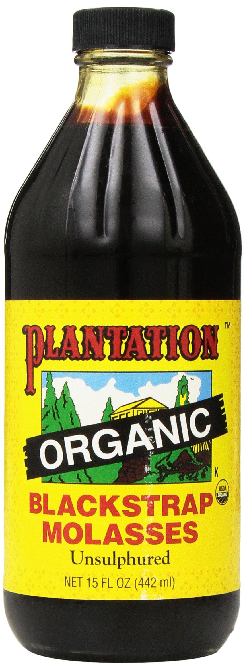 Molasses, Blackstrap, Unsulfured, Organic, 15 oz.