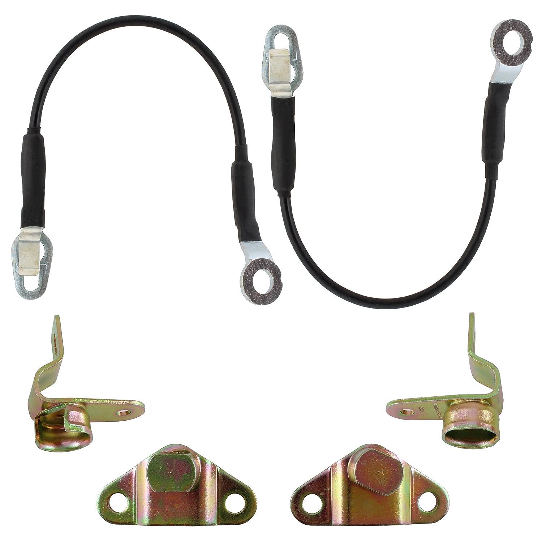 GMC Sierra IAMAUTO 29395 Tailgate Hinge /& Cable Support Kit for 1999 2000 2001 2002 2003 2004 2005 2006 Chevrolet Silverado