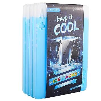 Amazon.com: OICEPACK - Paquetes de hielo para enfriador de ...