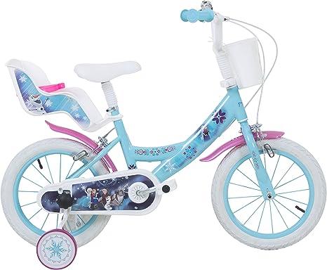 Disney - Bicicleta Infantil, 14 Pulgadas, Motivo de Elsa (Frozen ...