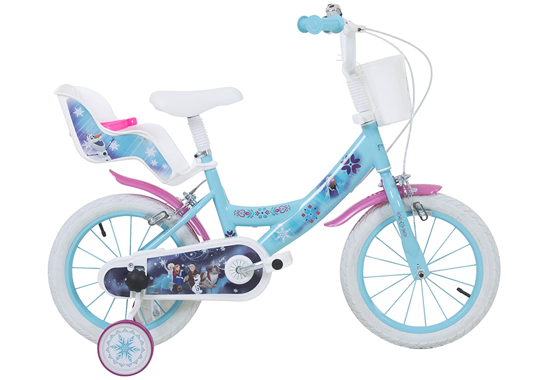 Disney 14 Zoll Frozen Kinderrad Eiskönigin ELSA: Amazon.de: Sport ...