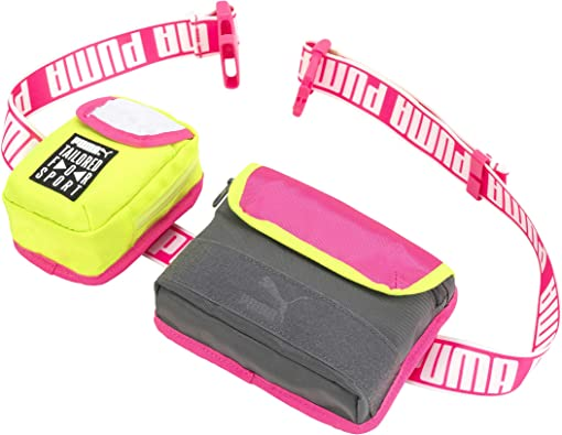 PUMA 4-IN-1 Utility Sling Belt Waist and Shoulder Pack Bag (Pink Multi): Amazon.es: Zapatos y complementos